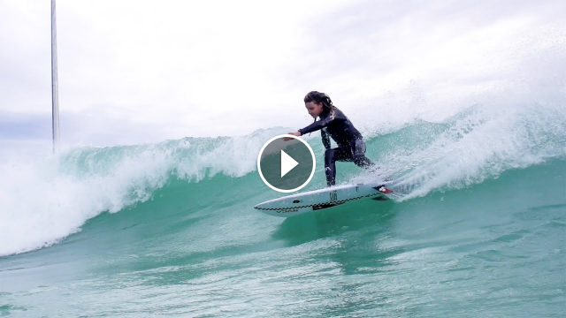Oscar Langburne Stylishly Samples URBNSURF Melbourne