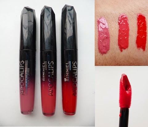 Rimmel Apocalips Lip Lacquer | Celestial, Aurora* and Big Bang