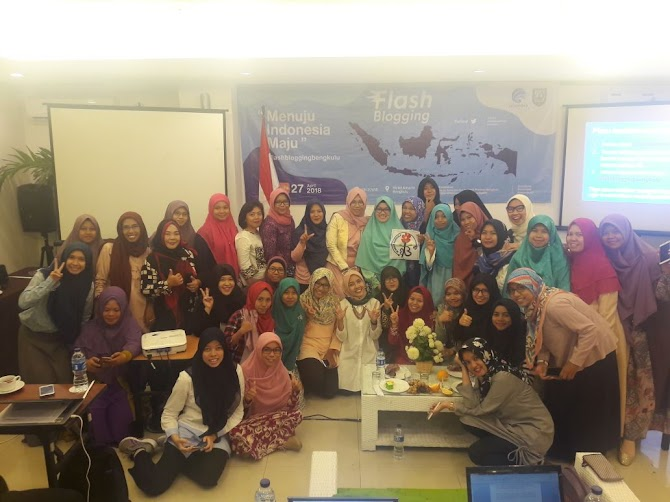 Blogger Paspampres di Media Sosial Untuk Indonesia Maju