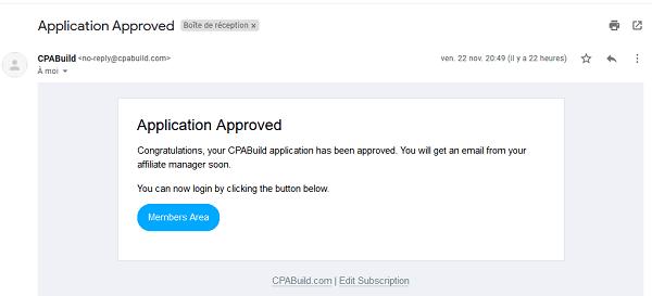 طريقة التسجيل في شركة cpabuild مع ضمان القبول 100%