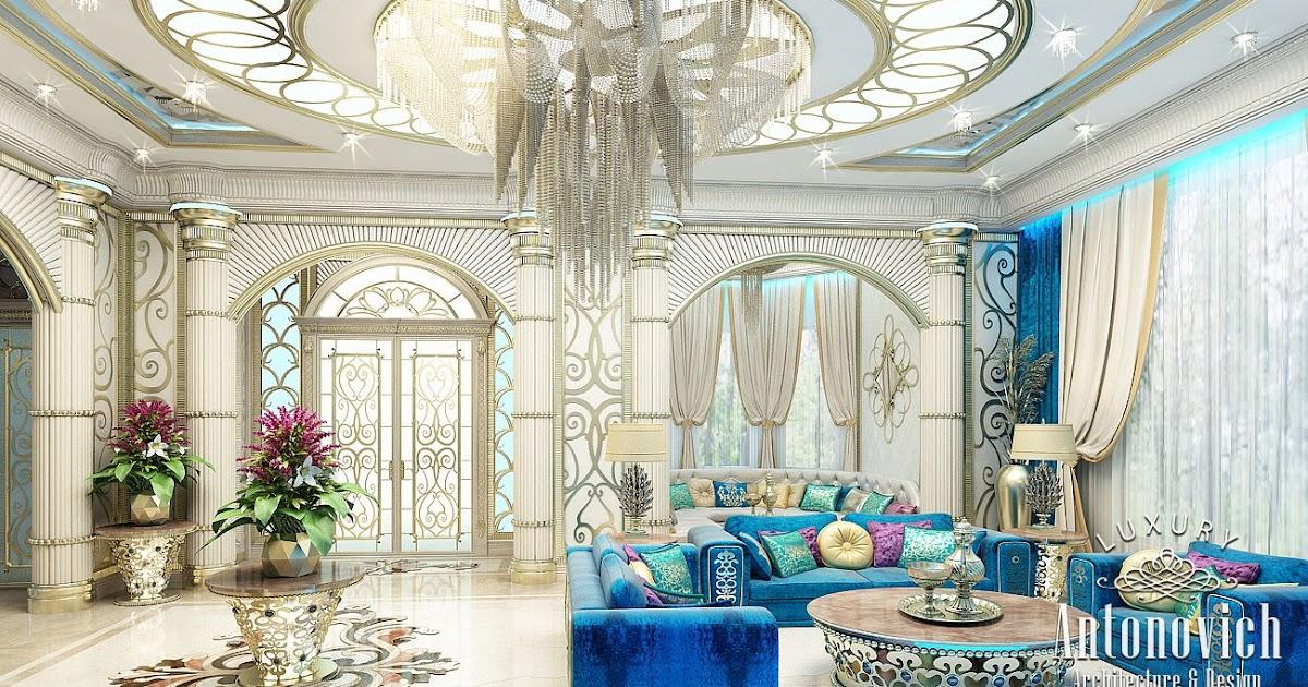 Luxury Antonovich Design Uae Interior In Oriental Style