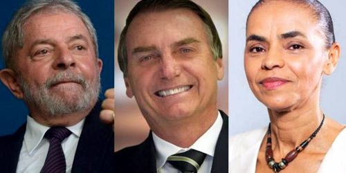 PRESIDENTE 2018 - LULA TEM 30%, BOLSONARO, 17%, MARINA, 10%, APONTA PESQUISA DATAFOLHA PARA 2018 –