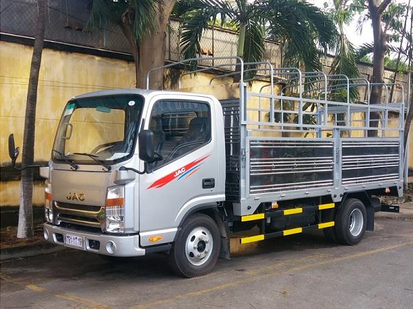 Bán xe tải jac 2t35 cabin vuông thùng dài 4m3 mới 2017 giá khuyến mãi