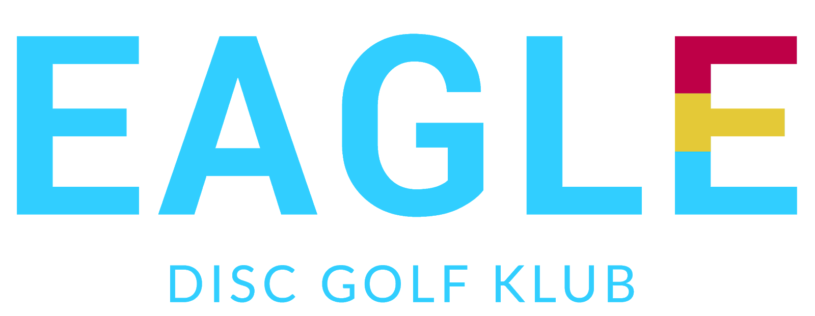 EAGLE Disc golf klub logo