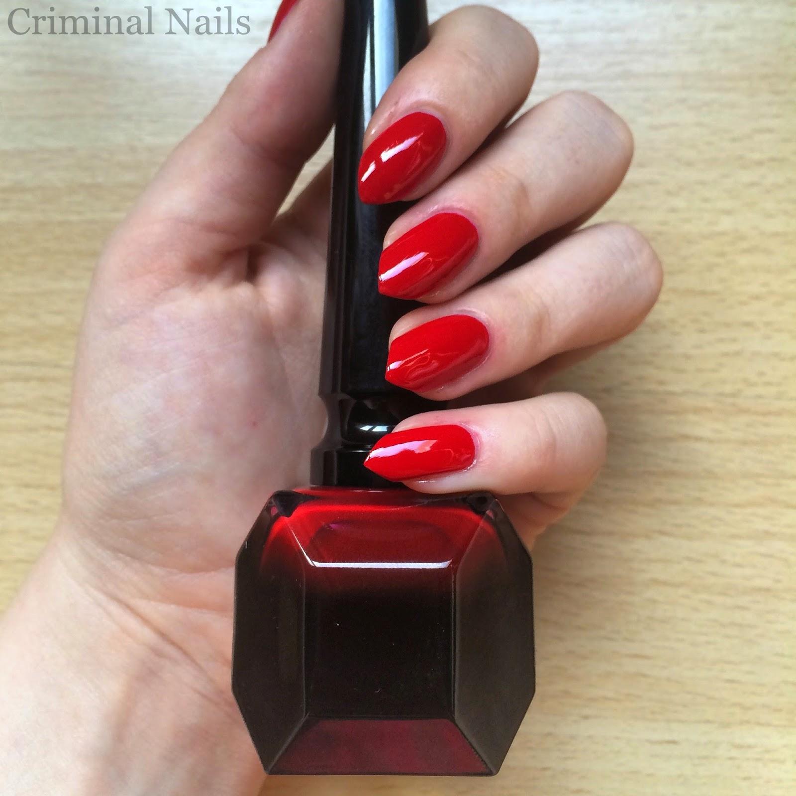 Criminal Nails My Louboutin Stilettos Rouge Louboutin Or The