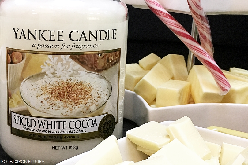 yankee candle spiced white cocoa