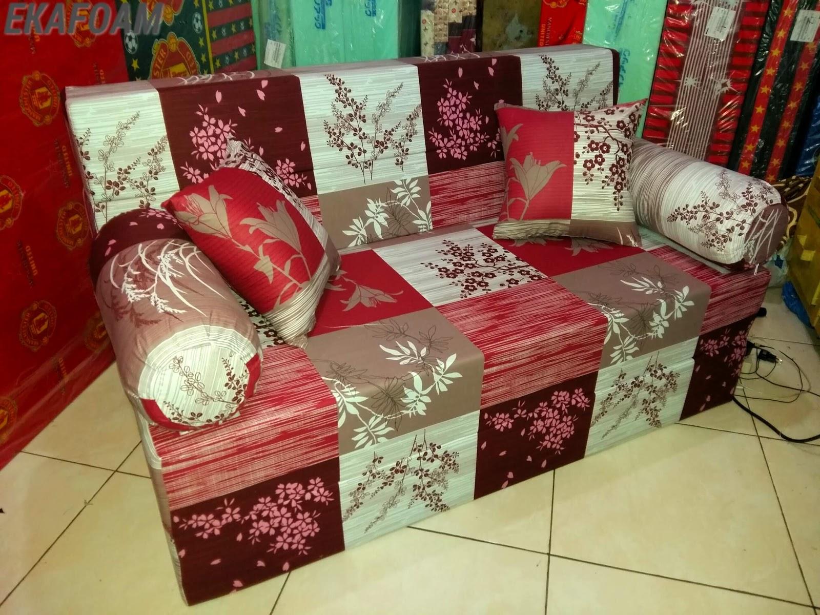 sofa bed inoac 3 in 1 high end leather reclining 2017 full motif agen resmi kasur busa