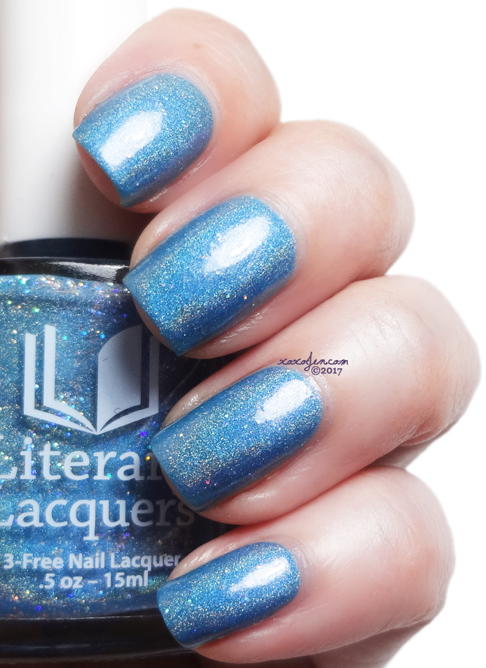 xoxoJen's swatch of Literary Lacquers Lettie's Ocean
