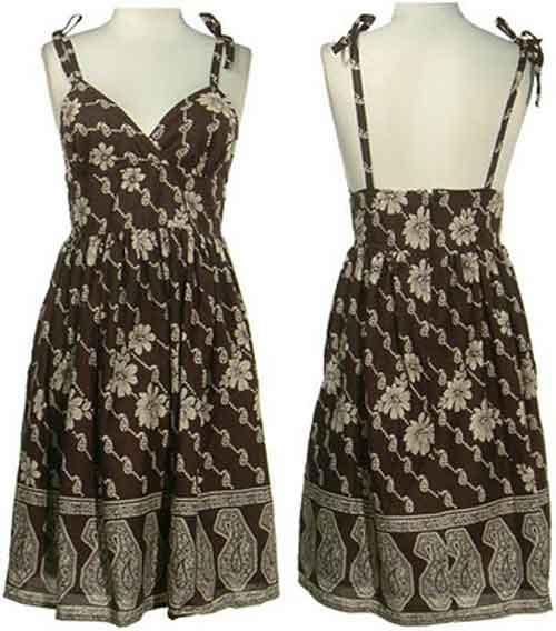 Fashionloly: Shown With Sexy Dress Batik: Batik Modern