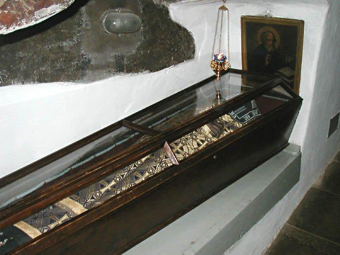 Преподобные Спиридон и Никодим, просфорники Печерские