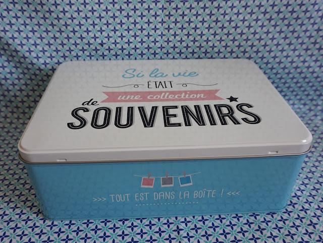 boite, souvenir, foirfouille, bullelodie