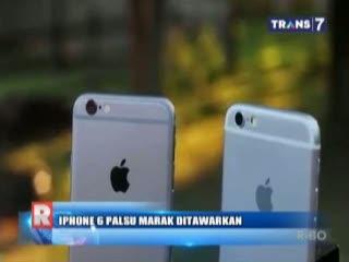 Membedakan iPhone Palsu (Replika) dan iPhone Asli