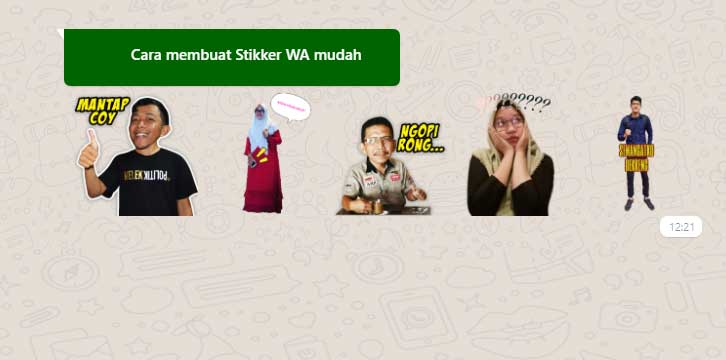 Cara Membuat Stiker WhatsApp dengan Foto Sendiri, Berikut 6 Langkah Praktis Membuatnya