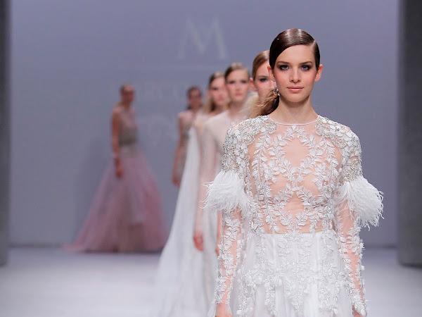 Desfile Marco&Maria en Valmont Barcelona Bridal Week - Colección 2020
