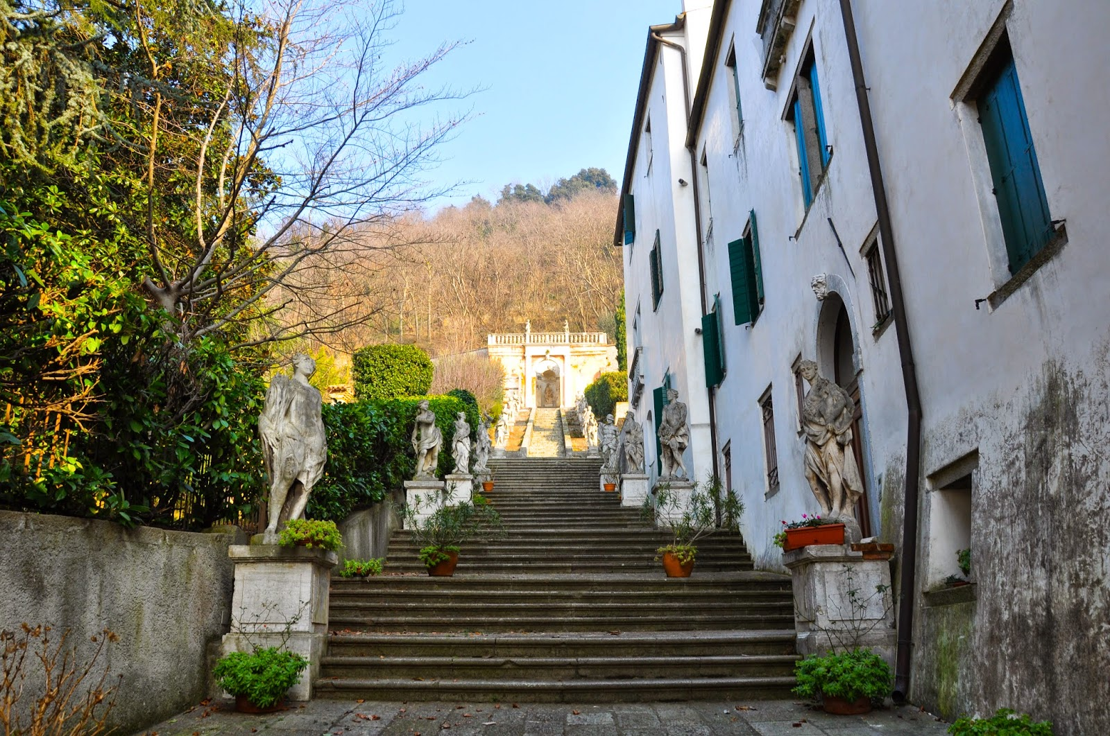 The stairs, Monselice, Colli Euganei