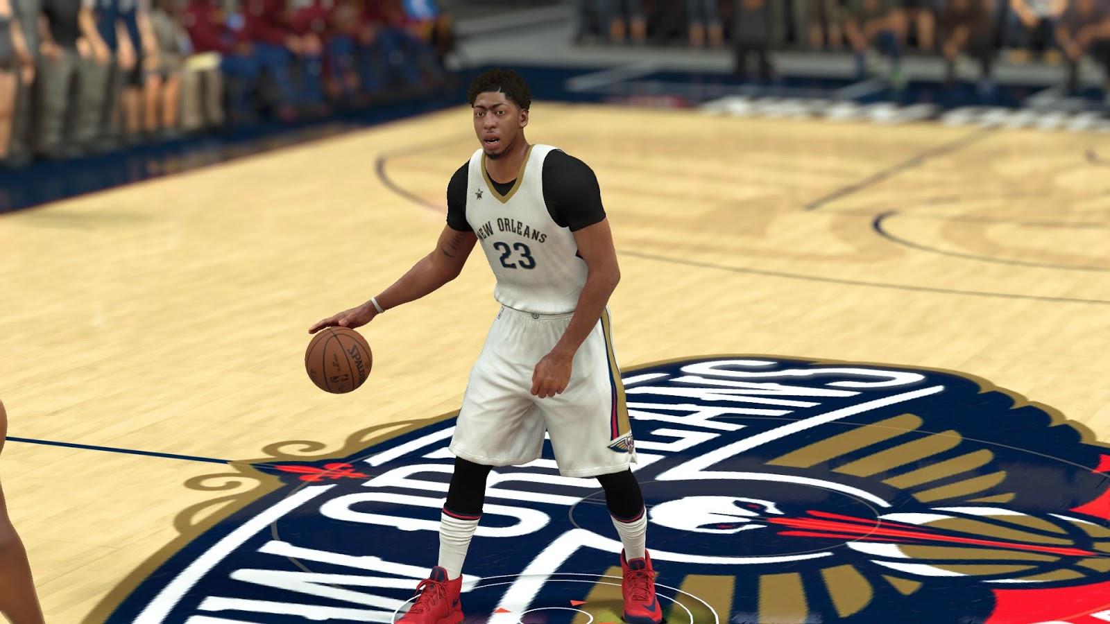 NBA 2K17 Pelicans Rebuild Project