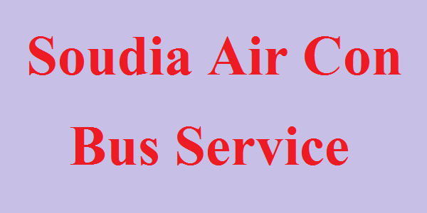 Soudia Air Con Bus Service