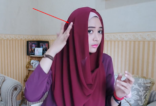 Gamabar Hijab Tutorial Pashmina Simple Persegi Panjang Natasha Farani