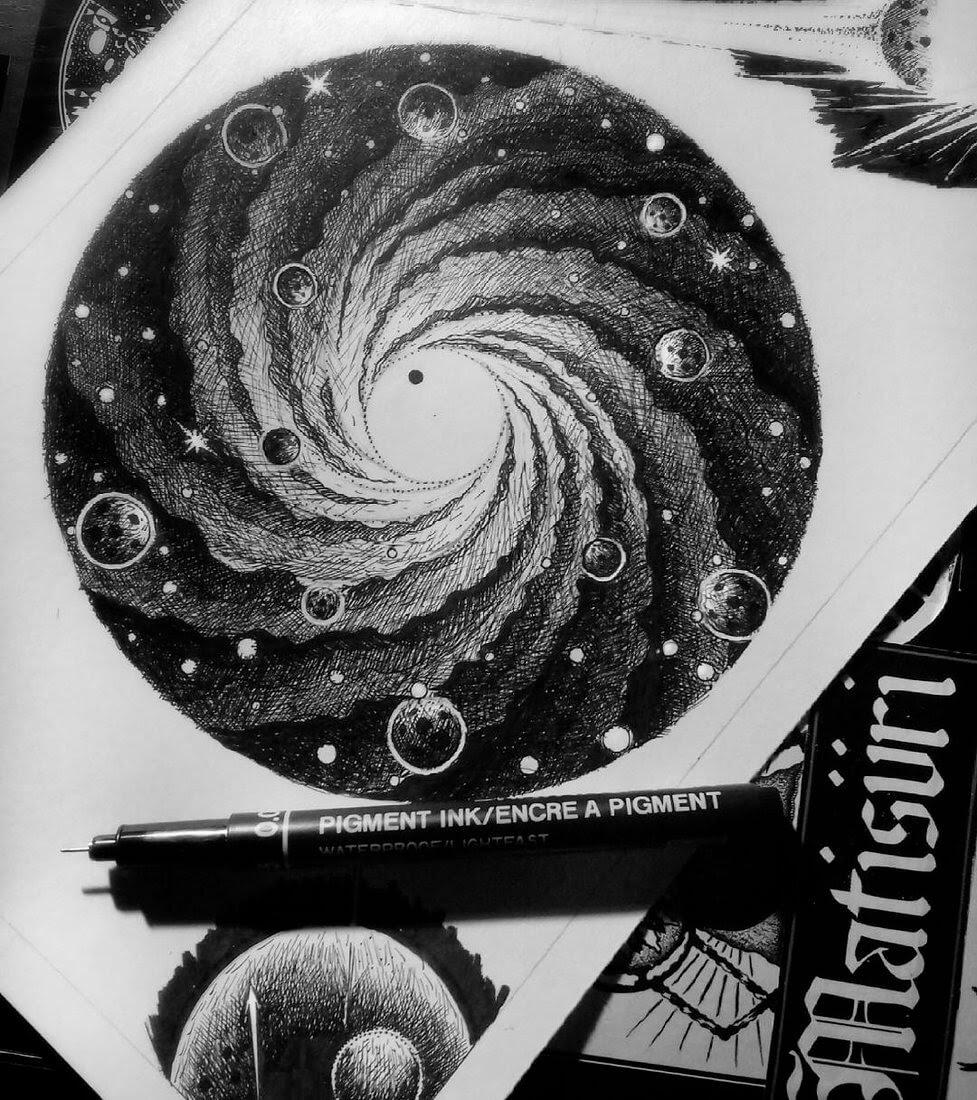 12-Vortex-G-A-Yuangga-Fineliner-Stippling-Drawings-www-designstack-co