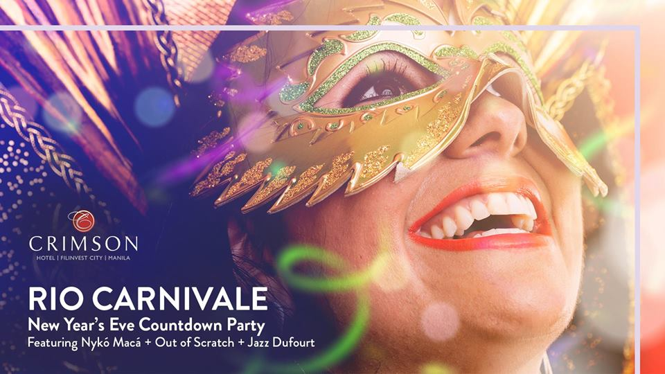 Rio Carnivale New Year's Eve Countdown Party at Crimson Hotel Alabang