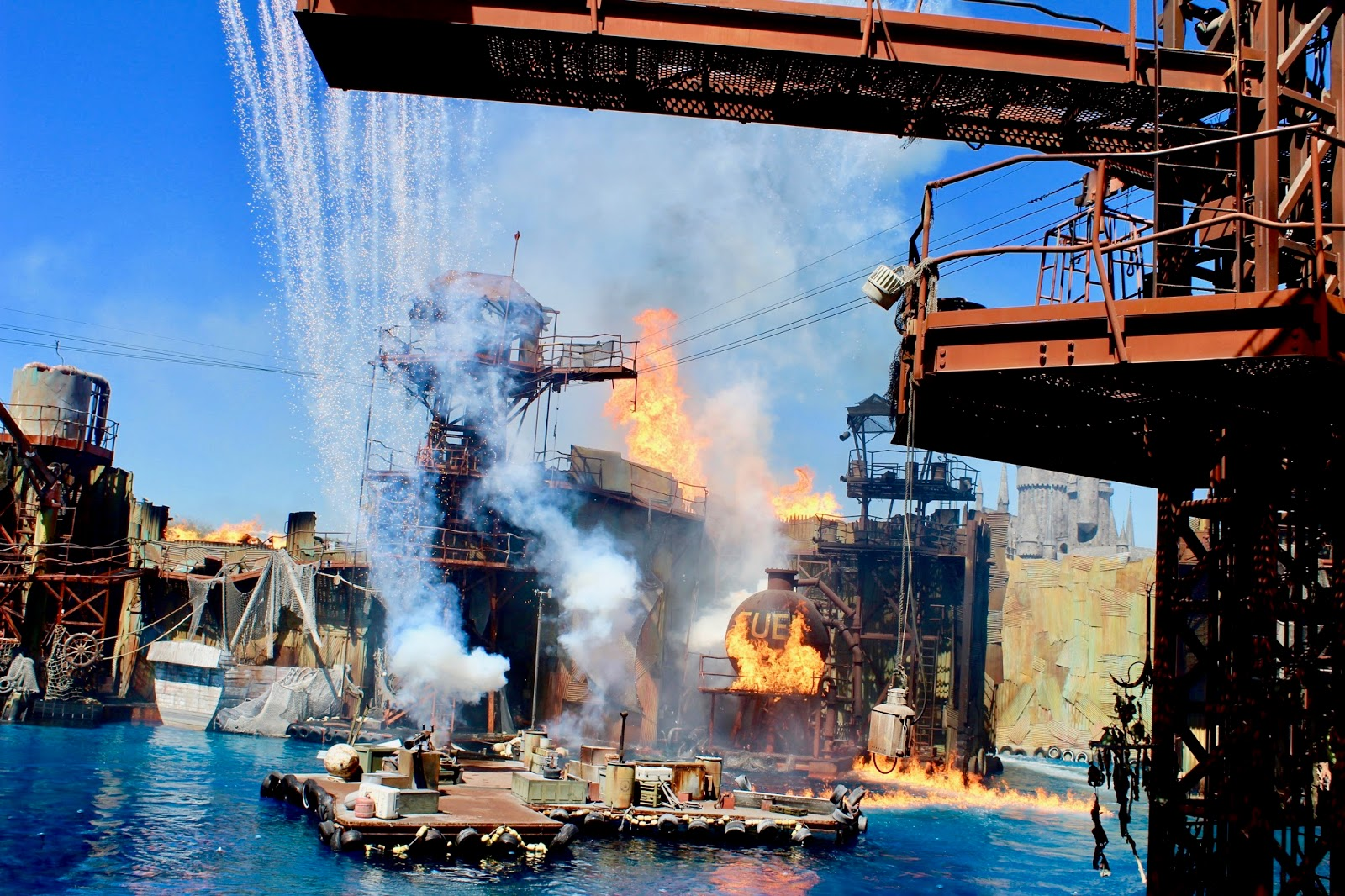 Los Angeles Universal Studios Hollywood Waterworld