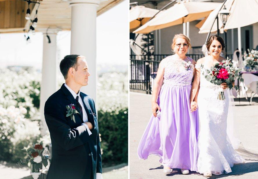 Washington Vineyard Wedding by Something Minted Photography