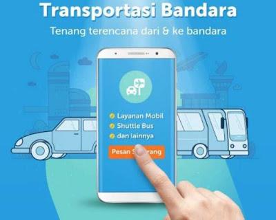 Mudahnya Traveling Dengan Traveloka Airport Transport