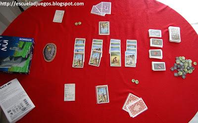 Reseña de Rapa Nui, juego de cartas para hasta 4 jugadores, del creador de Carcassonne y editado por Kosmos.