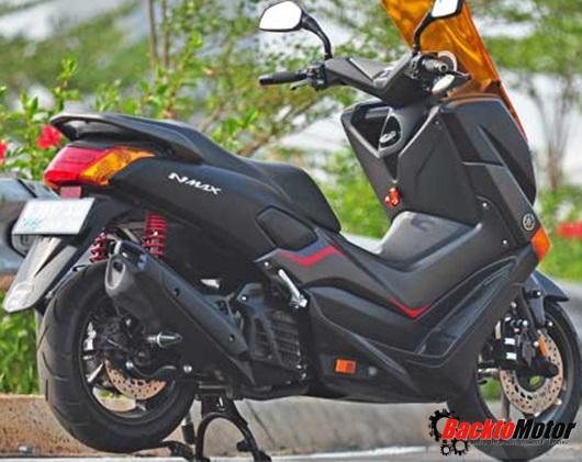 modifikasi motor yamaha nmax foto gambar44  terbaru