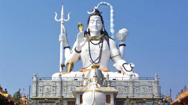 Shiva Statue of Char dham Namchi Sikkim