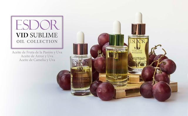 Colección Vid Sublime de Esdor, aceites faciales deliciosos para todas las pieles. ¡¡Y un sorteo!! -CERRADO-