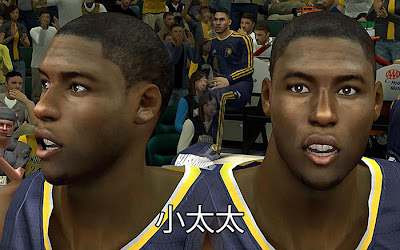 NBA 2K13 Ian Mahinmi Cyberface Mods Patches