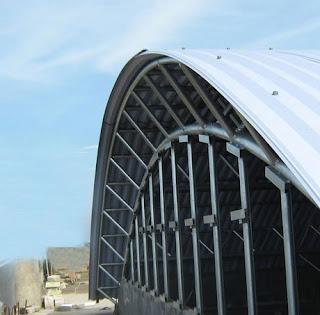 lengkung atap disebut