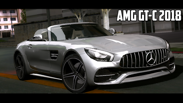 Mercedes AMG GTC Mod for GTA SA Android