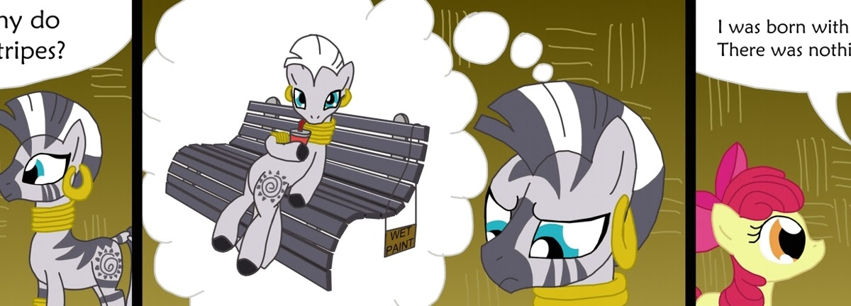 Equestria Daily Mlp Stuff Comic Zecora S Stripes