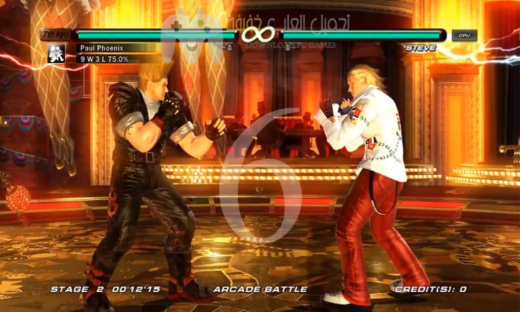 تحميل أجزاء لعبة تيكن Tekken برابط مباشر