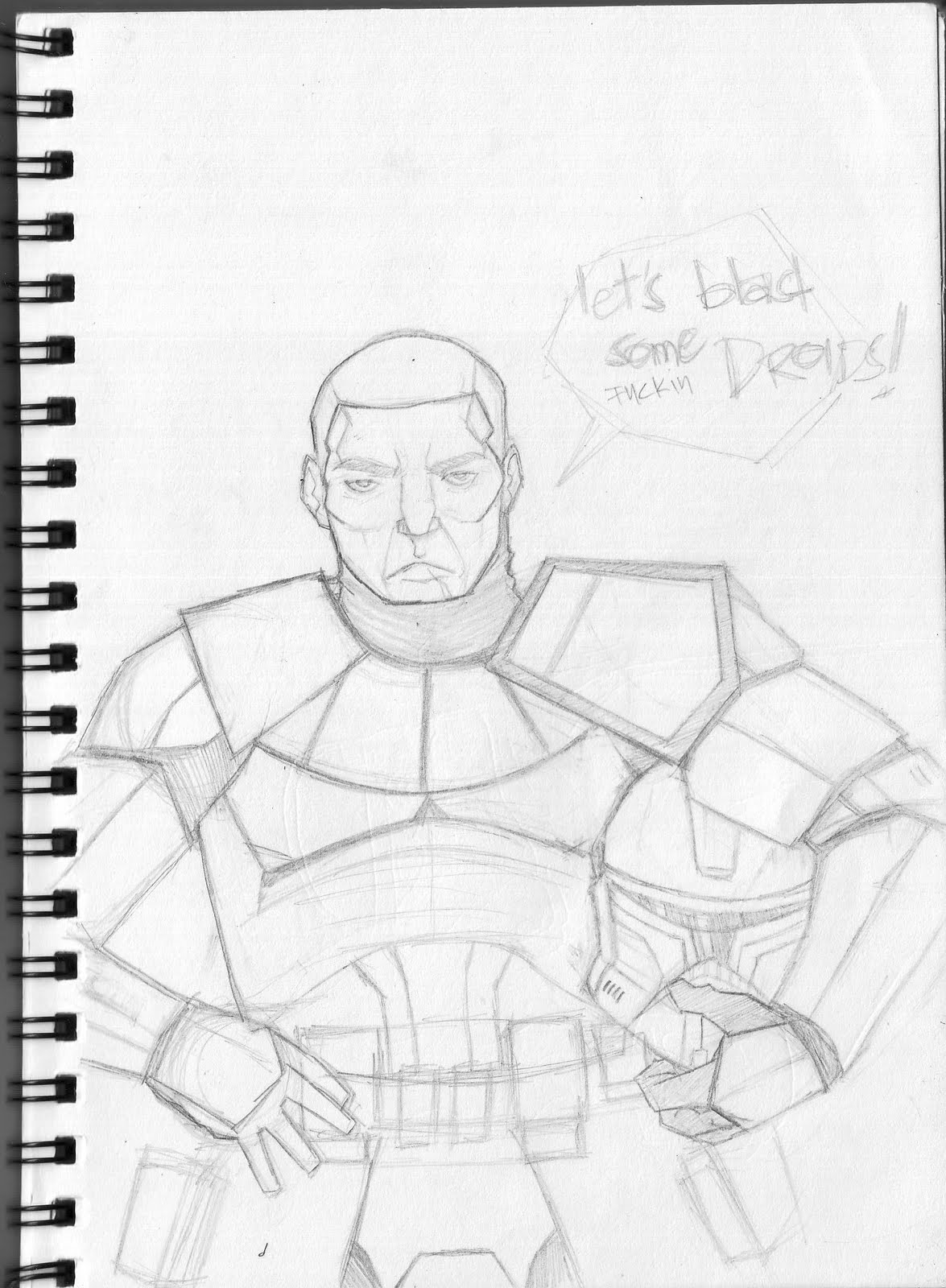 captain rex coloring page - less animated captain rex sketch kuris kuris chopsuey