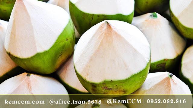 nước dừa -  kemccm