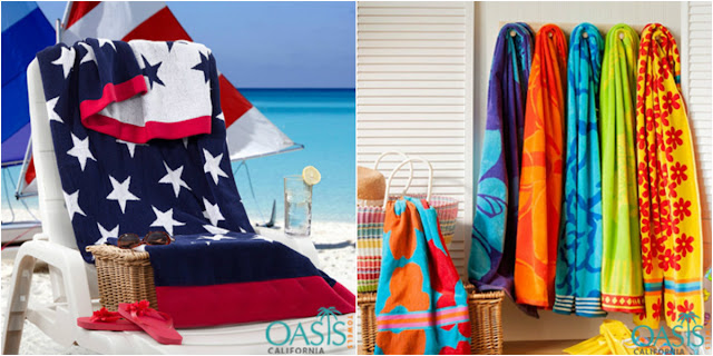 Beach Towels Are More than an Essential...It Makes a Statement!