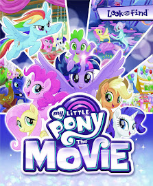 My Little Pony MLP The Movie: Look and Find Books