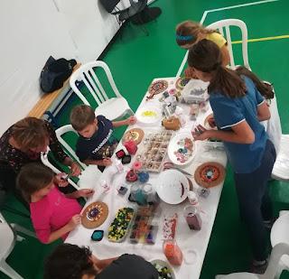 Laboratorio Mosaicando mandala Giostra dei Talenti