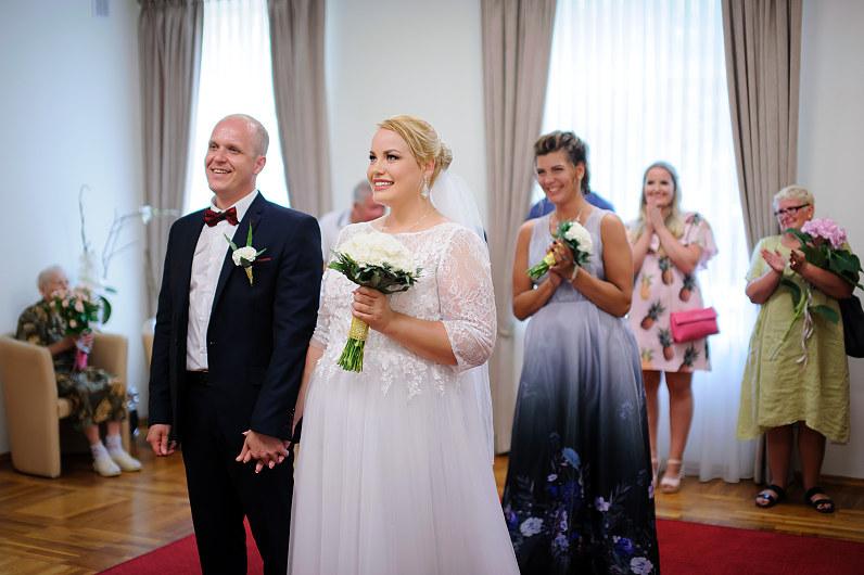 vestuvės Palangos santuokų rūmuose