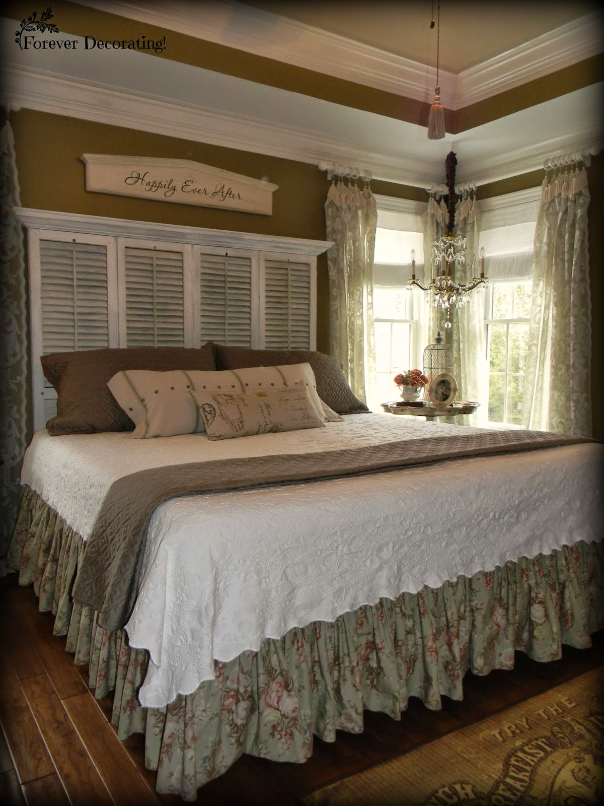 Master Bedroom Decorating Ideas On A Budget: Forever Decorating!: No Cost Decorating