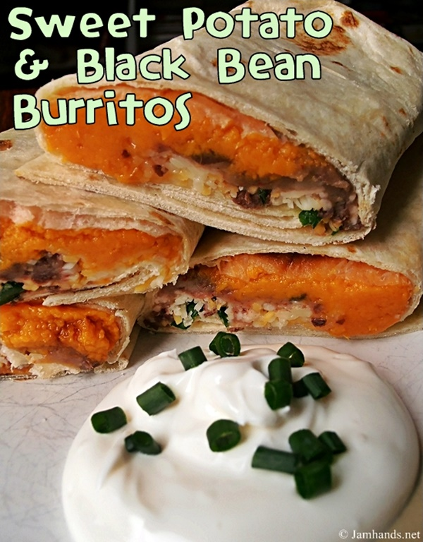 Sweet Potato & Black Bean Burritos