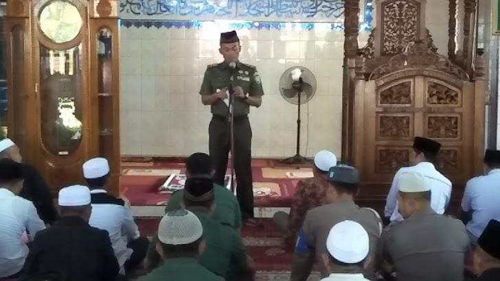 Do'a bersama  TNI, Polri Dengan Aparat Pemerintah dan Komponen Masyarakat untuk Korban Gempa Palu, Sigi dan Donggala