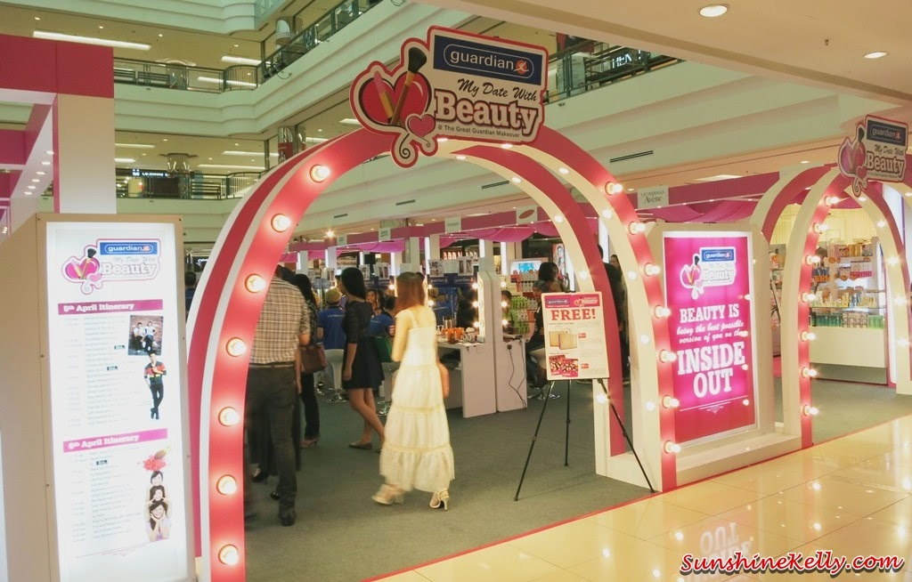 My Date with Beauty Great Guardian Makeover 2014, makeover, photo booth, a date with beauty, My Date with Beauty, Great Guardian Makeover 2014, 1 utama shopping centre, makeup, hairdo, L'Oreal Paris, Maybelline New York, Alcon, Avene, Bio Essence, BioGrow Oat BG22, Biore, Blackmores, Brands, Dermatix, Enchanteur, Hada Labo, Nano White, Neutrogena, Nivea, Oslee, Palmer's, Safi