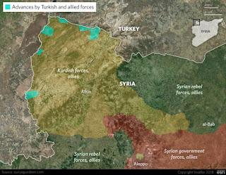 Το επόμενο δύσκολο βήμα της Τουρκίας μετά την Αφρίν