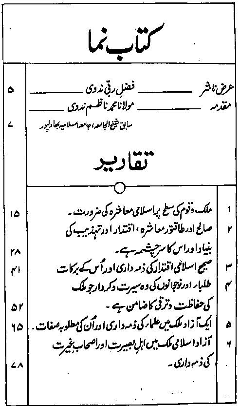 Syed Salman Nadvi Taqareer