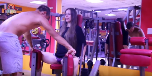 Girl Made Nasty Moans Inside The Gym! The Gym-Goers' Reactions Were PRICELESS!