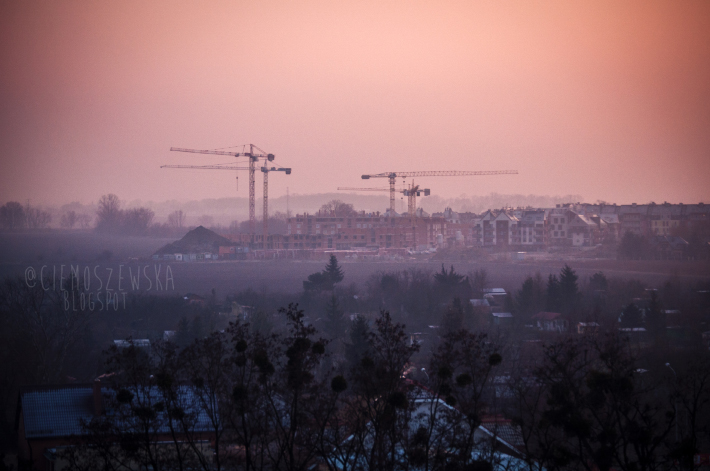 Smog na osiedlu Gaj